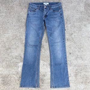 Armani Exchange skinny bootcut jeans